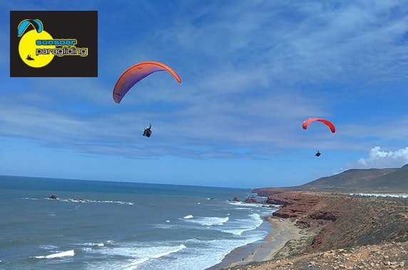 Sunsoar Paragliding session