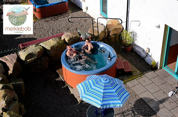 Hot tub cottages, Dumfries and Galloway