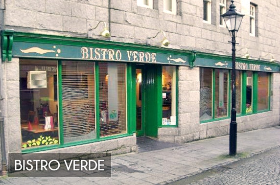 Bistro Verde lunch & drinks