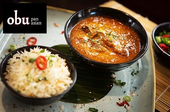Obu Pan Asian dining, Princes Square