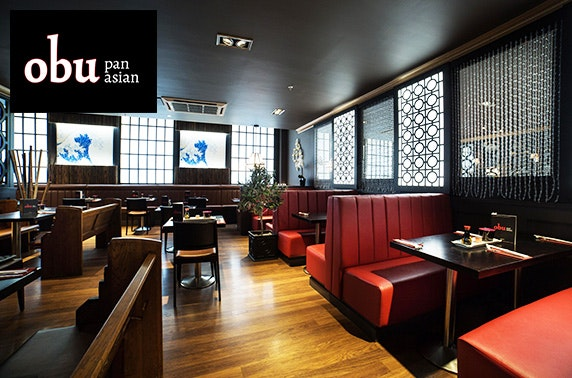 Obu Pan Asian dining, Princes Square