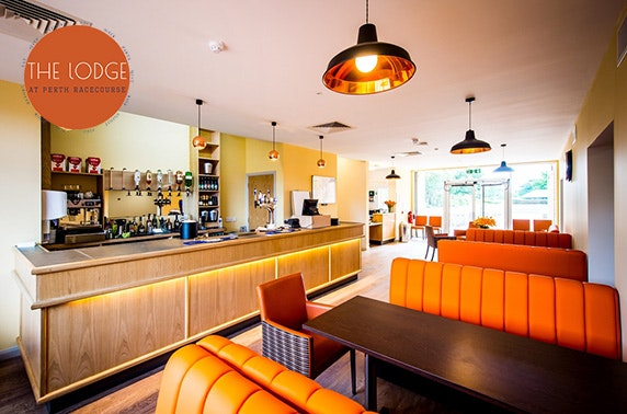 The Lodge at Perth Racecourse DBB - from £59