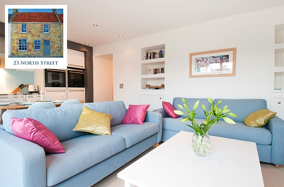 Luxury self-catering cottage, St Andrews – from less than £21pppn