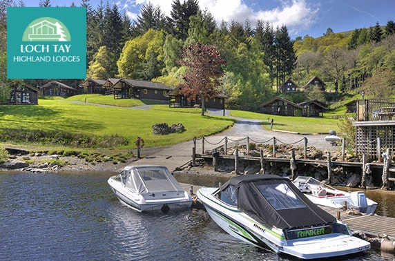 Cabin stay at Loch Tay Highland Lodges – less than £14pppn