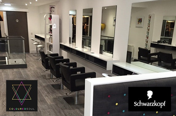 Coloured Soul hair cut & frizz-ease treatments; Union St