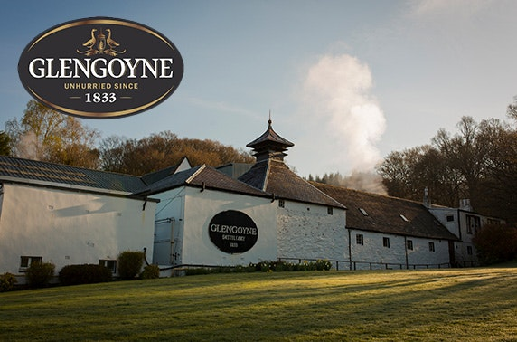 Award-winning Glengoyne Distillery whisky & chocolate tour