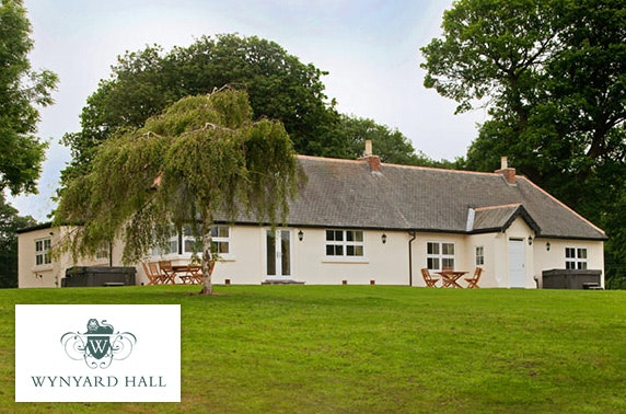 4 wynyard hall hot tub cottage stay less than 50pp - Cottages For Less