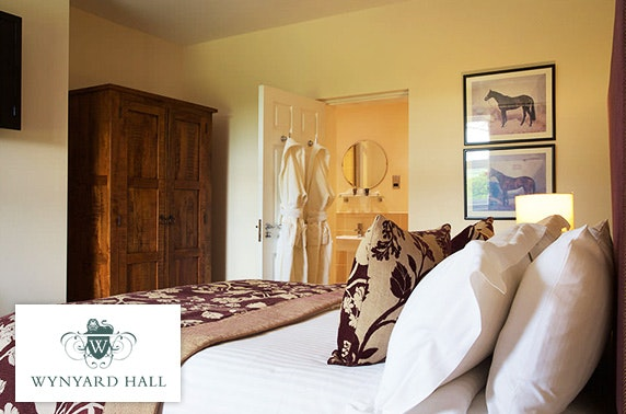 4* Wynyard Hall cottage stay – less than £50pp
