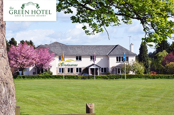 The Green Hotel getaway - £59