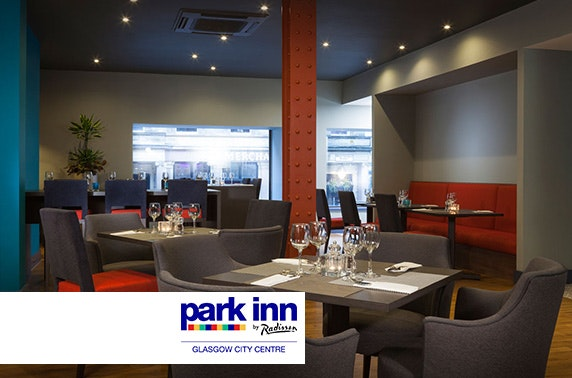 Park Inn by Radisson stay, Glasgow City Centre - £69