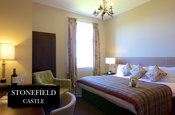 4* Stonefield Castle stay, Loch Fyne
