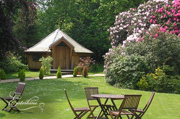 4* Enterkine lodge stay, Ayrshire