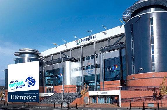 Hampden Park stadium & football museum tour