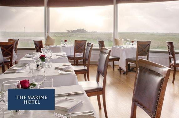 4* Marine Troon Hotel spa day or overnight break