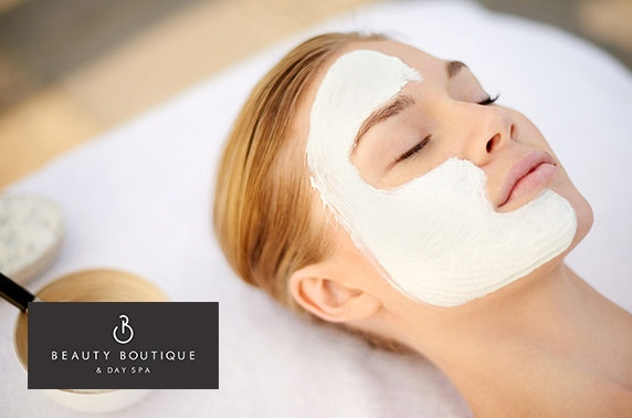 Spa day with Dermalogica facial & more, City Centre