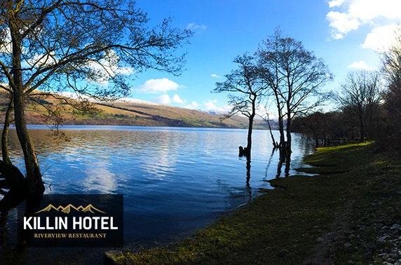 Killin Hotel DBB, Loch Tay - £69