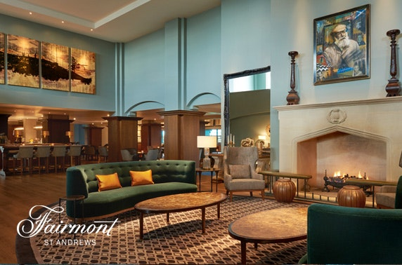 5* Fairmont St Andrews luxury stay