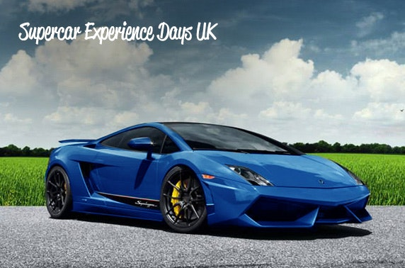 Supercar experience, choice of 2 locations