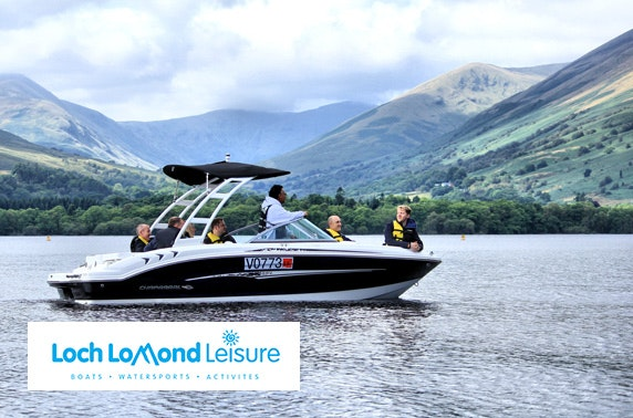 Loch Lomond Leisure speedboat tour, Luss