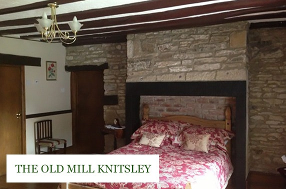 The Old Mill Knitsley countryside break