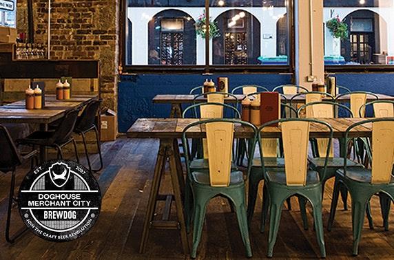 BrewDog burgers and beer, Merchant City