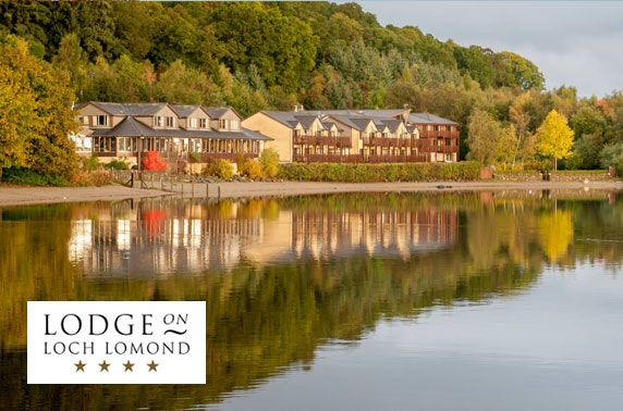 4* Lodge on Loch Lomond dining