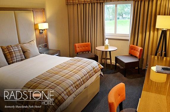 Radstone Hotel DBB, Lanarkshire - £69