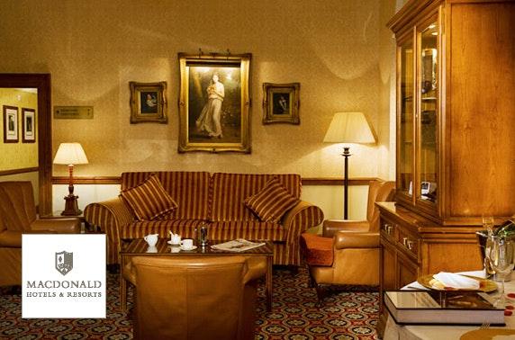 4* Crutherland House DBB - £89