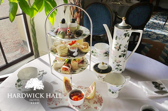4* Hardwick Hall Hotel afternoon tea & Prosecco, Sedgefield