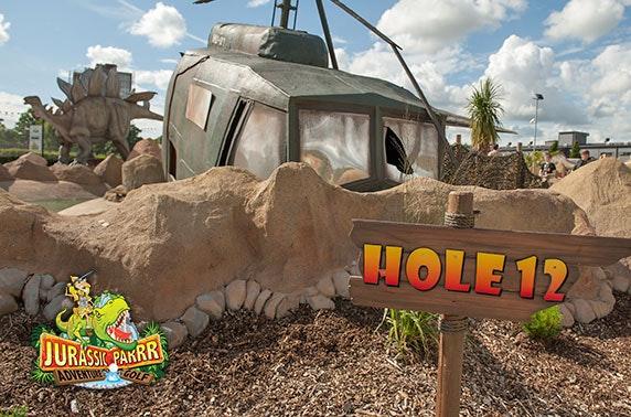 Jurassic Parrr Adventure Golf