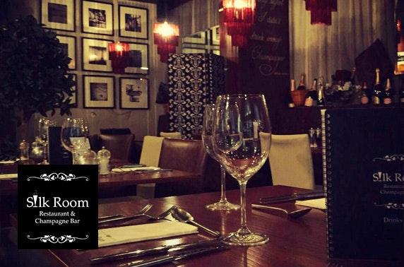 Silk Room steak dining, Quayside