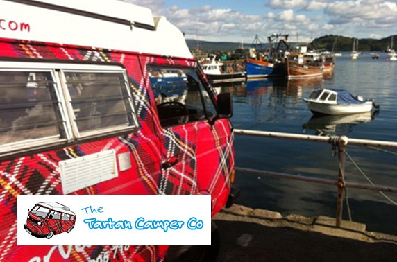 The Tartan Camper Co motorhome hire