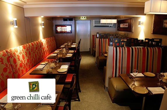 Green Chilli Café Indian dining
