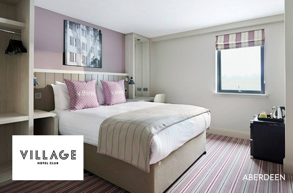 Village Hotel stay, choose from 4 locations