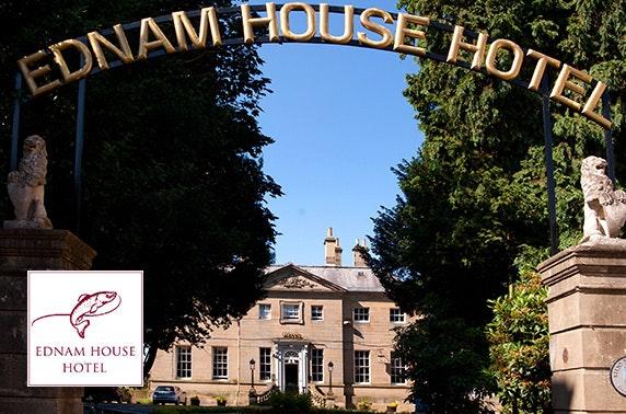 Ednam House Hotel DBB, Scottish Borders