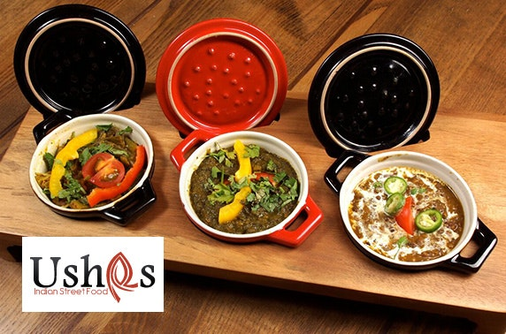 Award-winning Usha's Indian street food dining