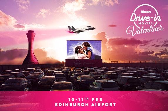itison Drive-In Movies Valentine's, Edinburgh Airport