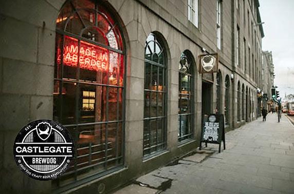 Brewdog Castlegate burgers & beers