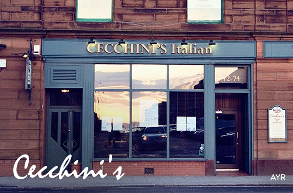 Pizza & pasta at Cecchini's, Ayr & Ardrossan - £5pp
