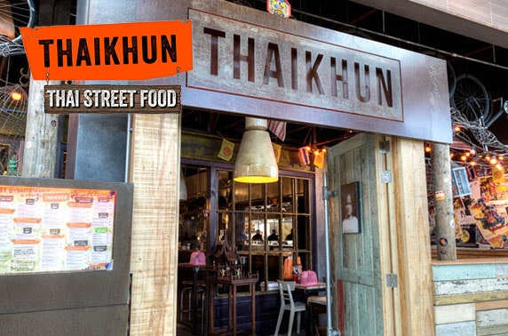 Thaikhun Metrocentre cookery class & 2 cocktails