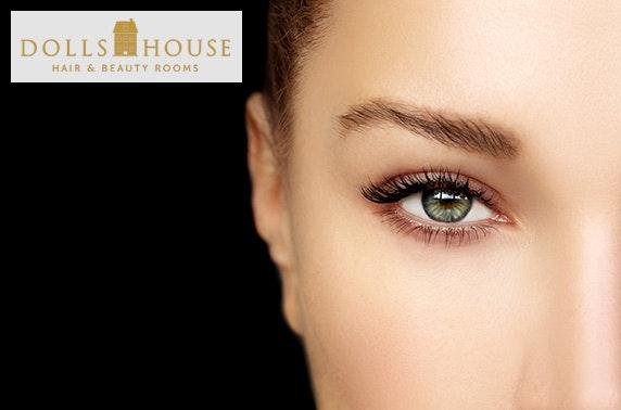 Dolls House Beauty facial & eyelash treatments, Cults