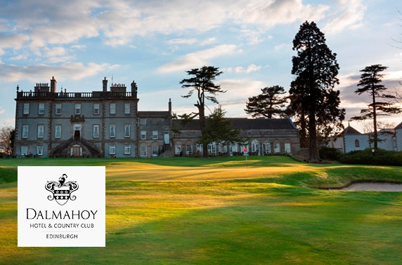 Round of golf at Dalmahoy Hotel & Country Club