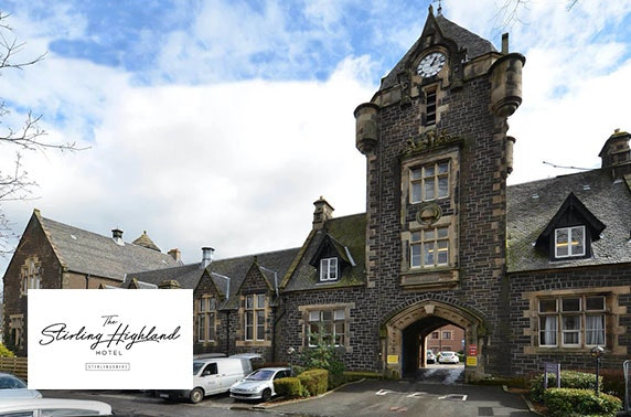 4* Stirling Highland Hotel DBB