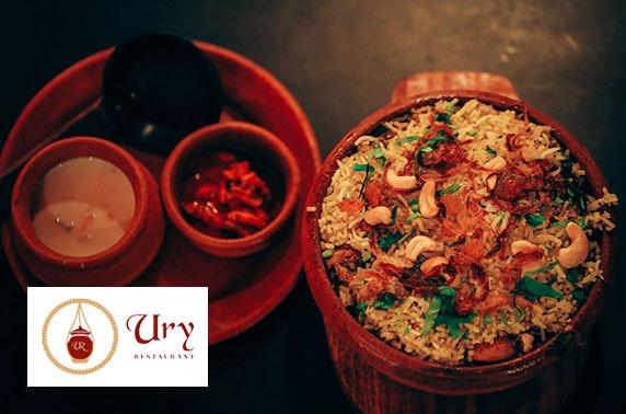 Ury Restaurant Indian dining