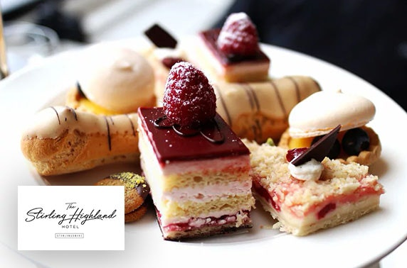 4* Stirling Highland Hotel afternoon tea