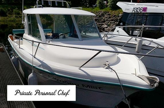 Private Loch Lomond Cruise with seafood & Prosecco - £69