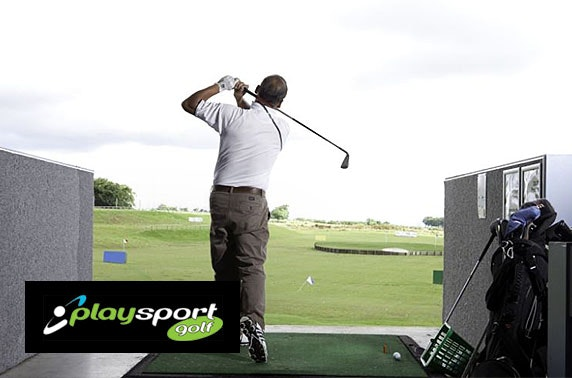 Playsport Golf round & driving range, East Kilbride