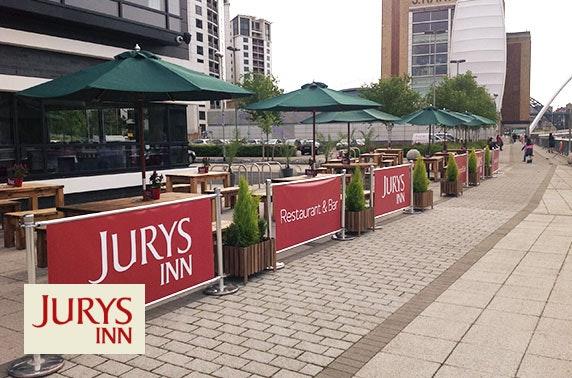 Jurys Inn Newcastle Gateshead Quays stay - £69