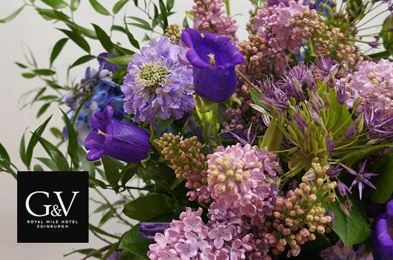 Flower arranging workshop, 5* G&V Hotel