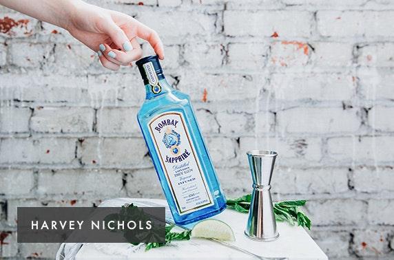 Harvey Nichols AA Rosette gin or mojito afternoon tea